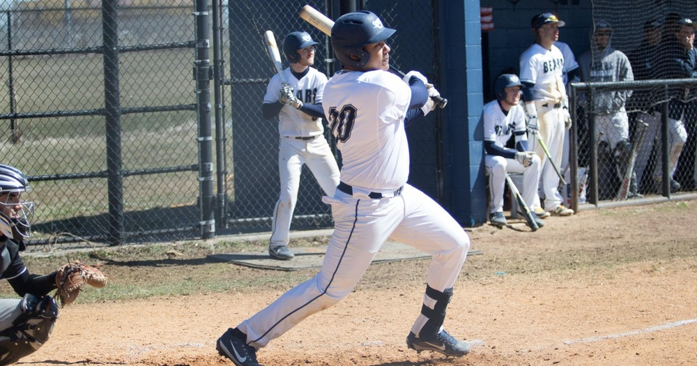 Reyes Collects Three RBI as Baseball Falls to Lehman