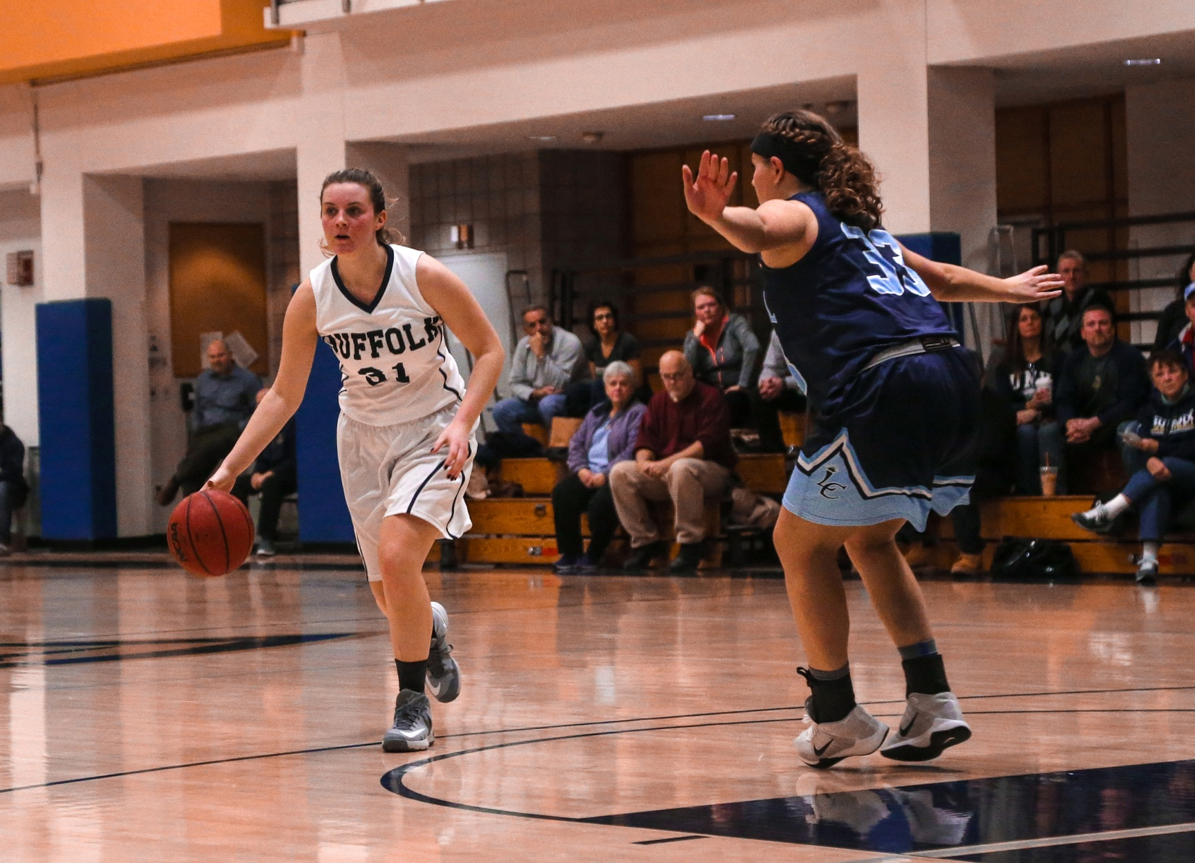 Emmanuel Stuns Women's Basketball on Senior Day