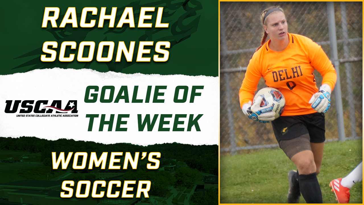 Scoones Adds USCAA Honors to Awarding Week