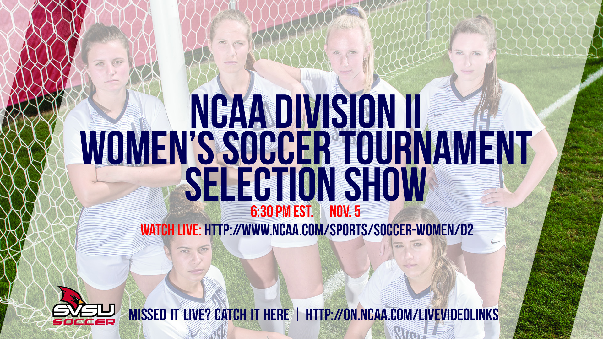 Women's Soccer NCAA Selection Show Set for 6:30 P.M. on Monday