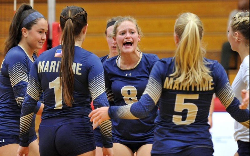 Harrison Records 15 Digs, 13 Kills As Volleyball Falls To Pine Manor