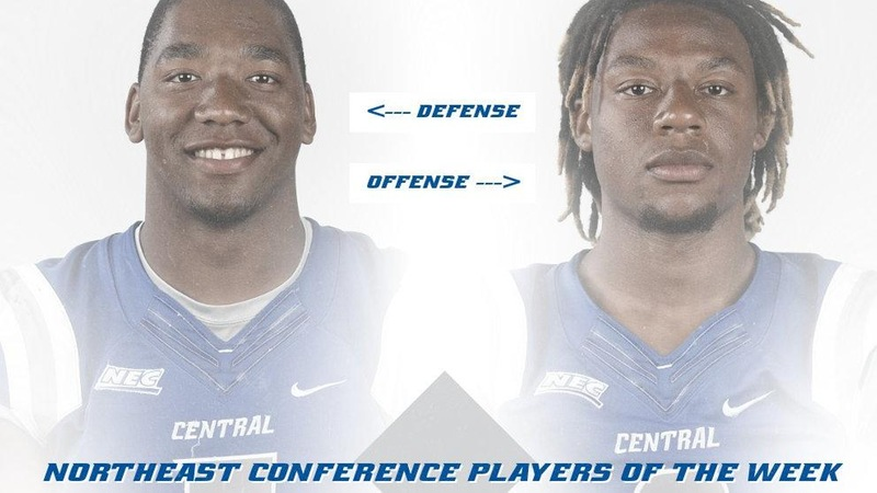 Jones and James Earn Northeast Conference Weekly Honors