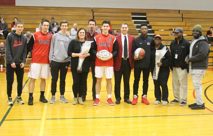 Men's Basketball Triumphs Over Gordon on Senior Day, 93-88