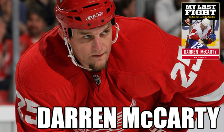 Former NHL Standout Darren McCarty To Make Special Appearance; Books Will Be Available For Purchase
