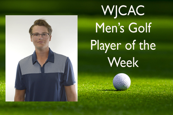 WJCAC Men's Golf Player of the Week (April 11-17)