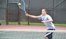 #28 Men's Tennis Picks Up Big Win Over #21 N.C. Wesleyan, 8-1