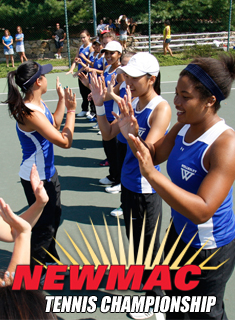 Blue Tennis Competes in NEWMAC Tournament this Weekend