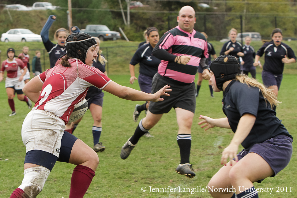 Women's Rugby - Cadets advance to NERFU Semifinals