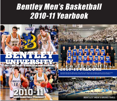 2010-11 Bentley Men's Basketball Yearbook Now Available