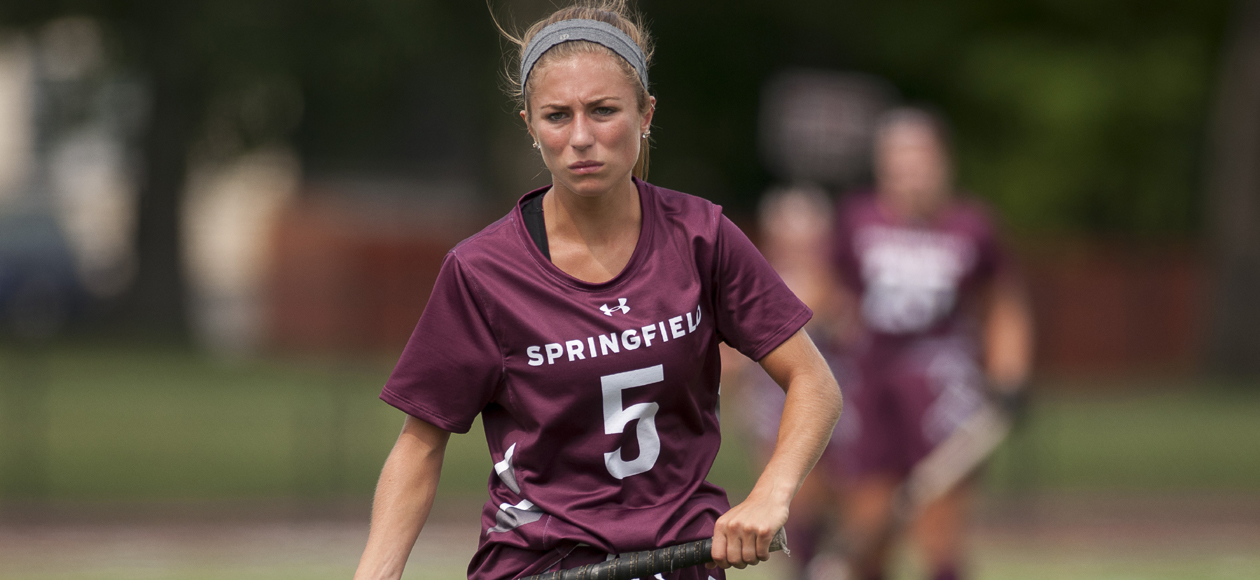 Copponi's Career Day Leads Field Hockey to 3-0 Win Over Clark