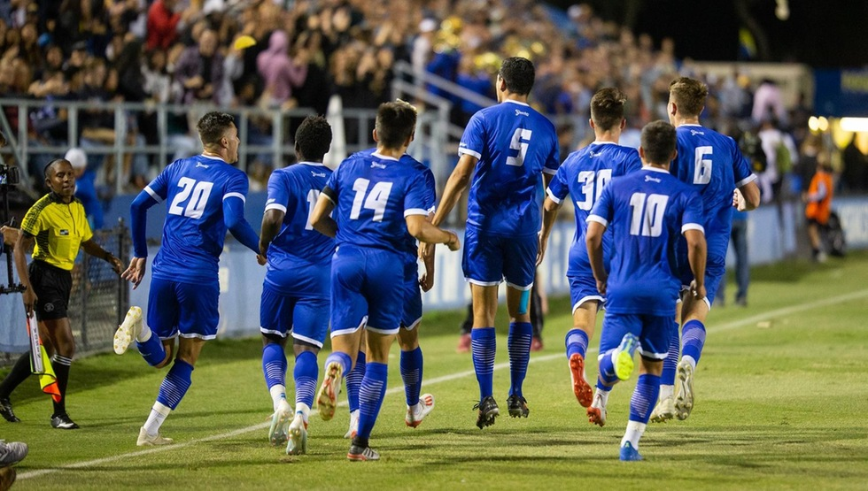 The Gauchos battled to a 3-3 draw after double overtime with #1 Stanford on Saturday night. (Photo by Eric Isaacs)