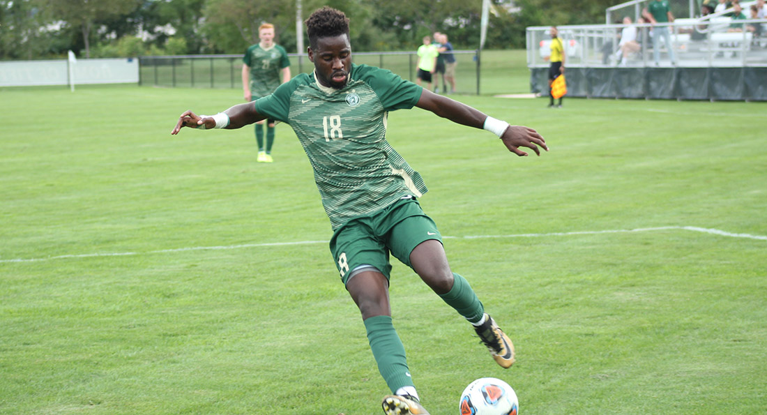Abdoul Magid Sy notched a hat trick in a 5-1 win over Kentucky Wesleyan.