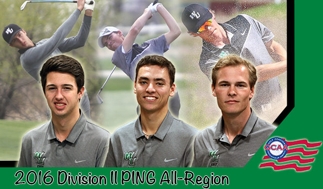 Three Wilmington Golfers Named to GCAA Division II PING All-East Region Team
