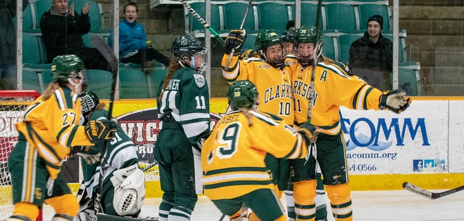 Three power play goals lifts Clarkson past Dartmouth