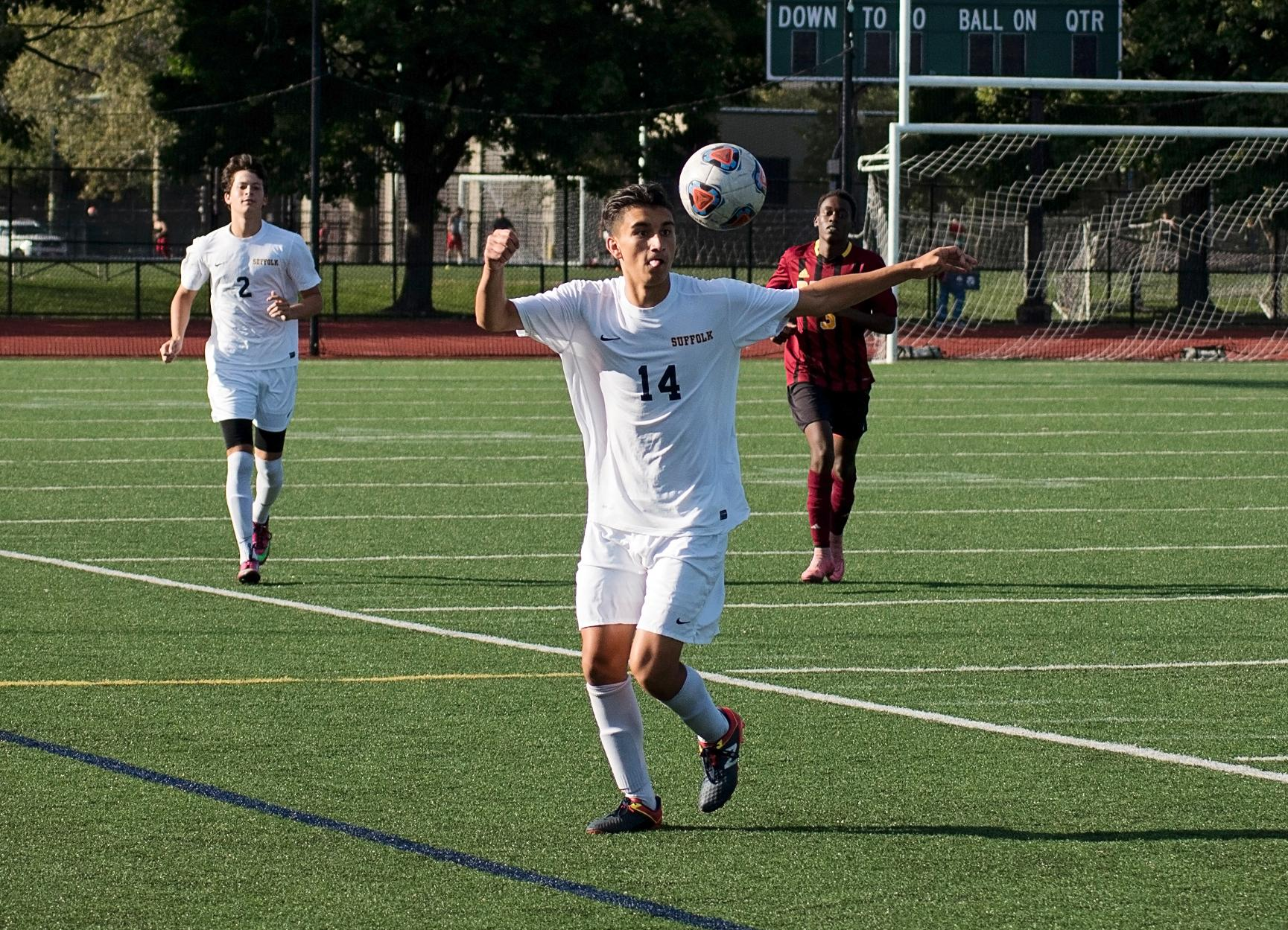 Norwich Quiets Men's Soccer, 4-0