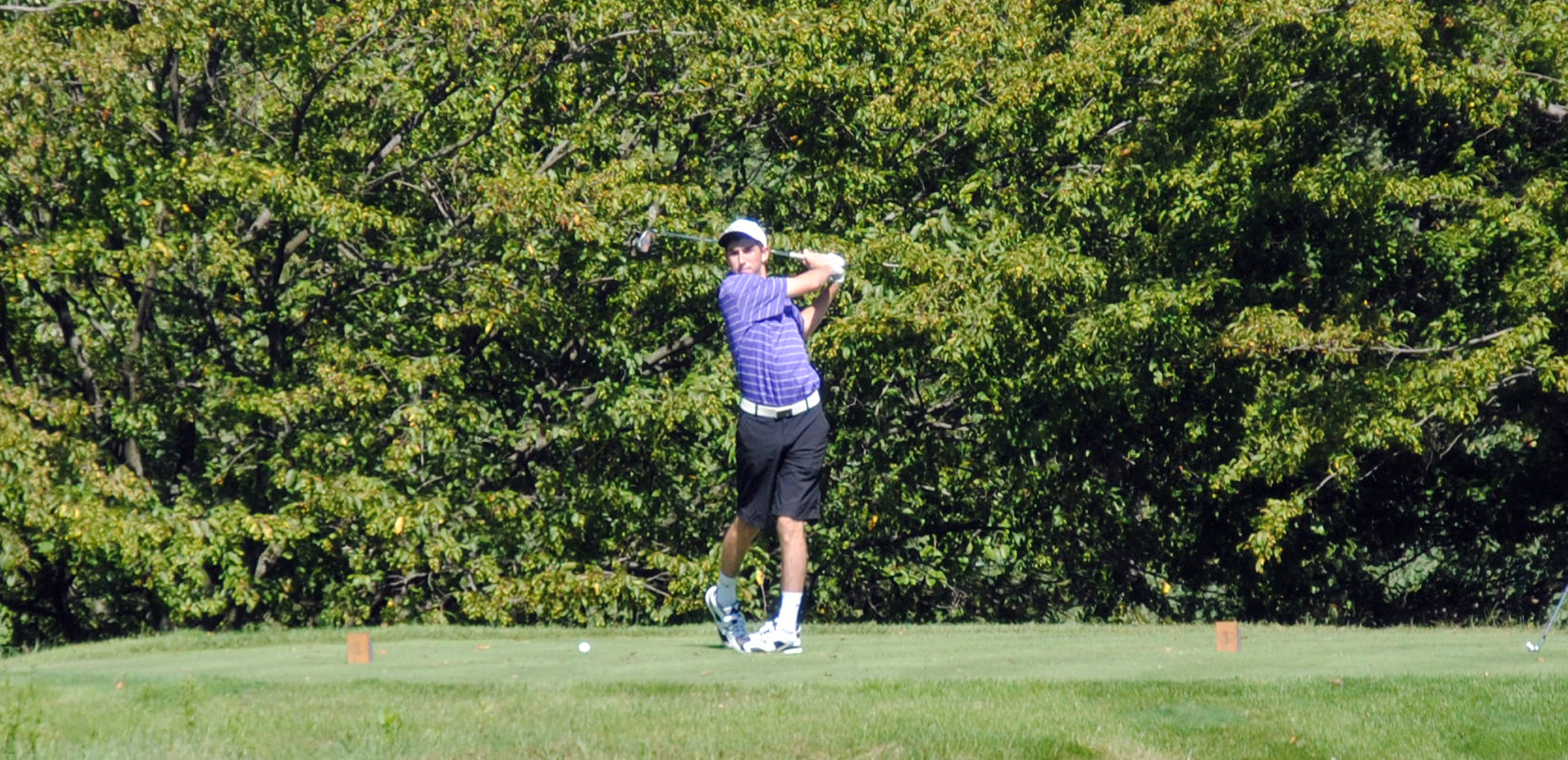 Sophomore Kyle Hayes shot a season-low 76 on Thursday.