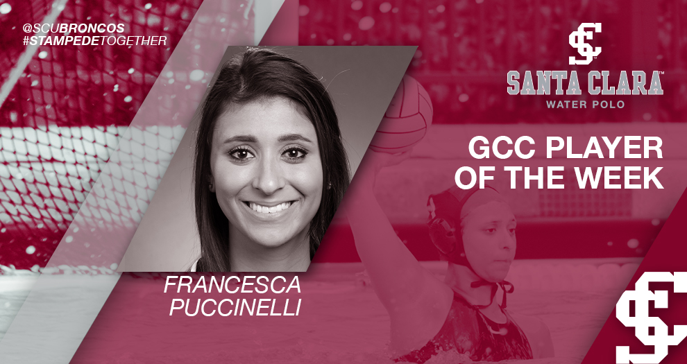 Women's Water Polo Goalie Earns Weekly Conference Award