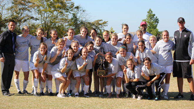 Trinity Wins Third Straight SCAC Women's Soccer Title