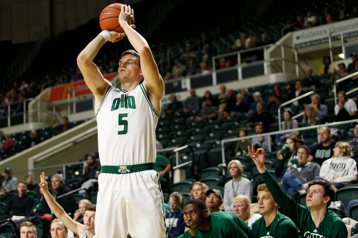 Ohio Men's Basketball Opens Three-Game Home Stand Against Austin Peay on Saturday