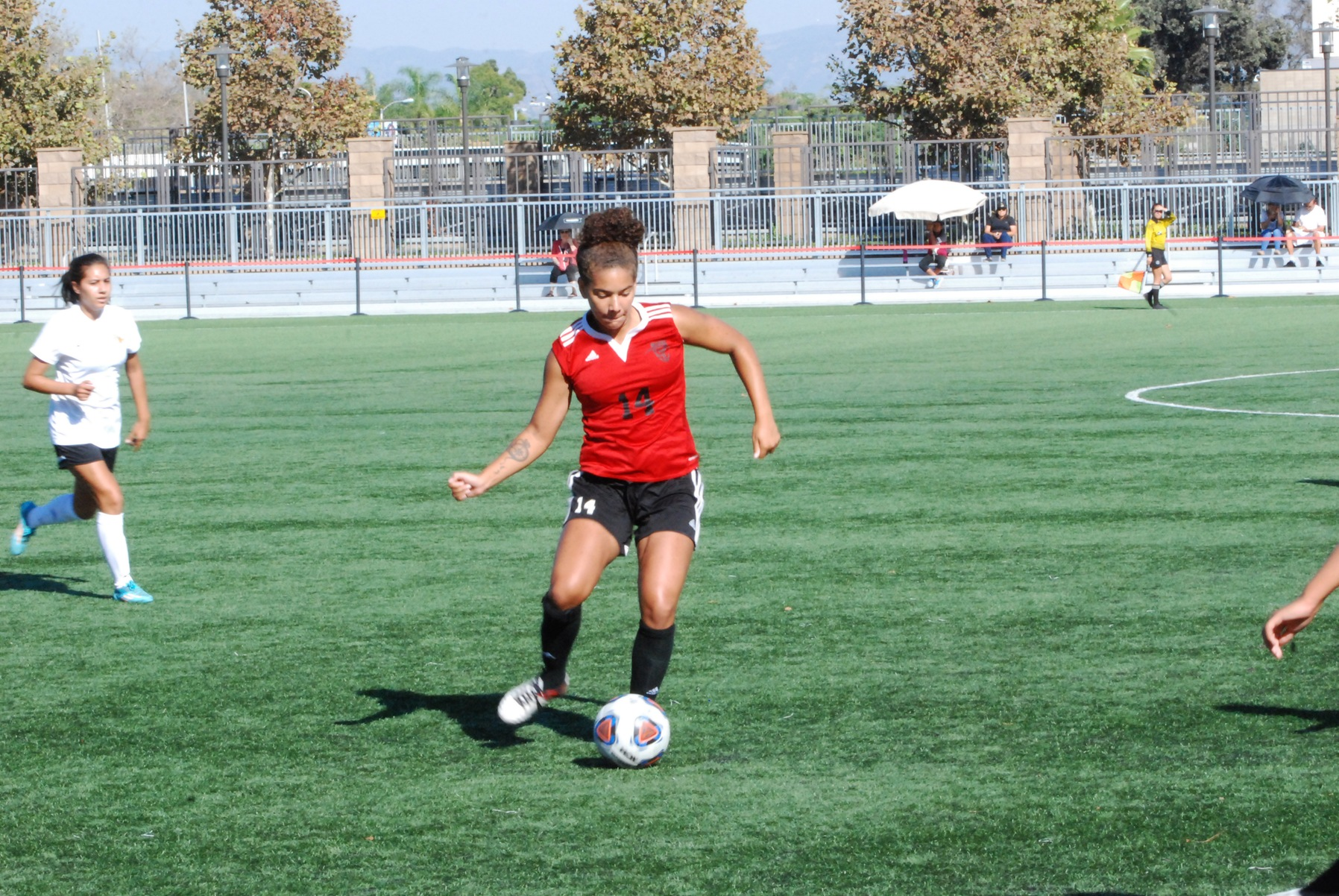Dons Battle with Golden West, Fall 1-0