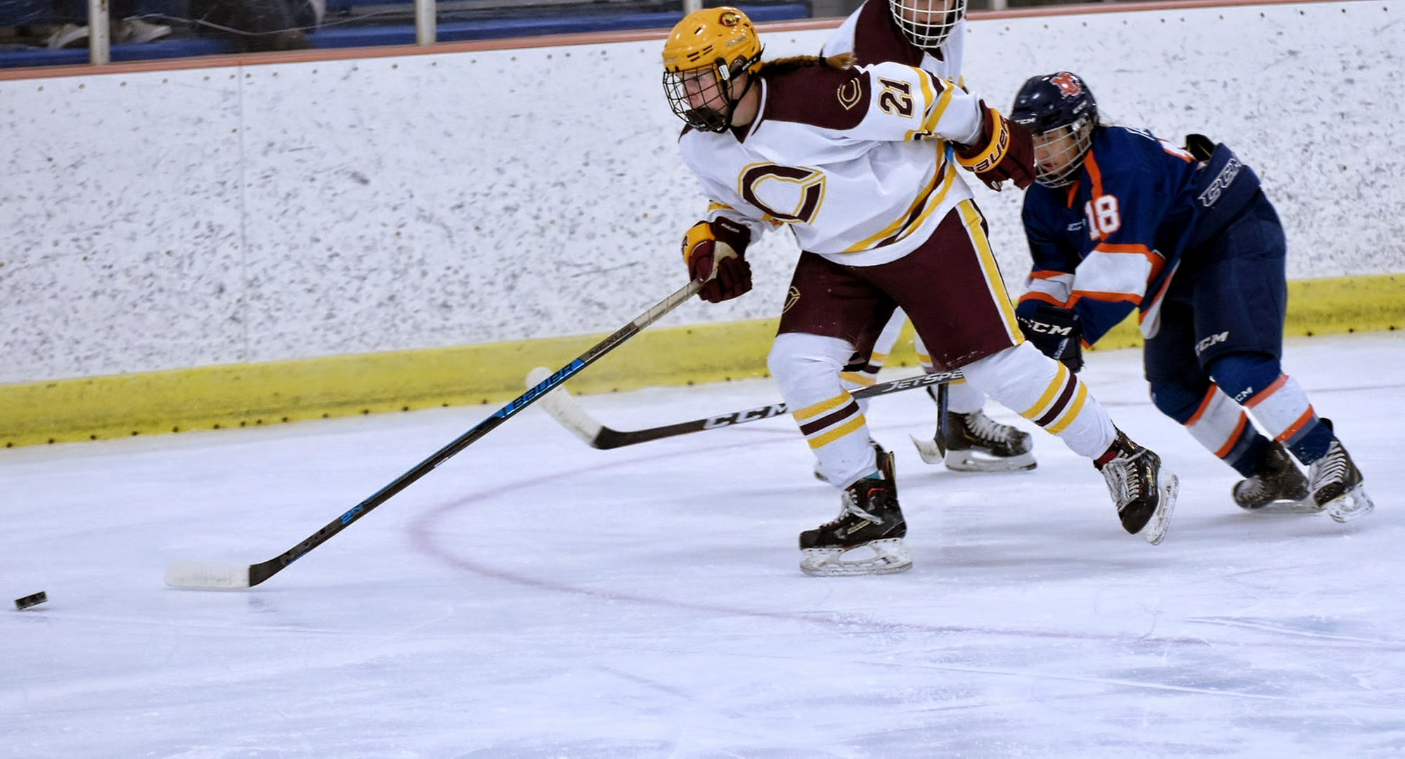 Junior Megan Mohr scored the game-tying goal in the third period of the Cobbers' series opener at St. Mary's.