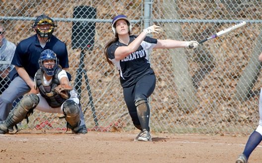 McHenry Sparks Softball To Doubleheader Split With Juniata