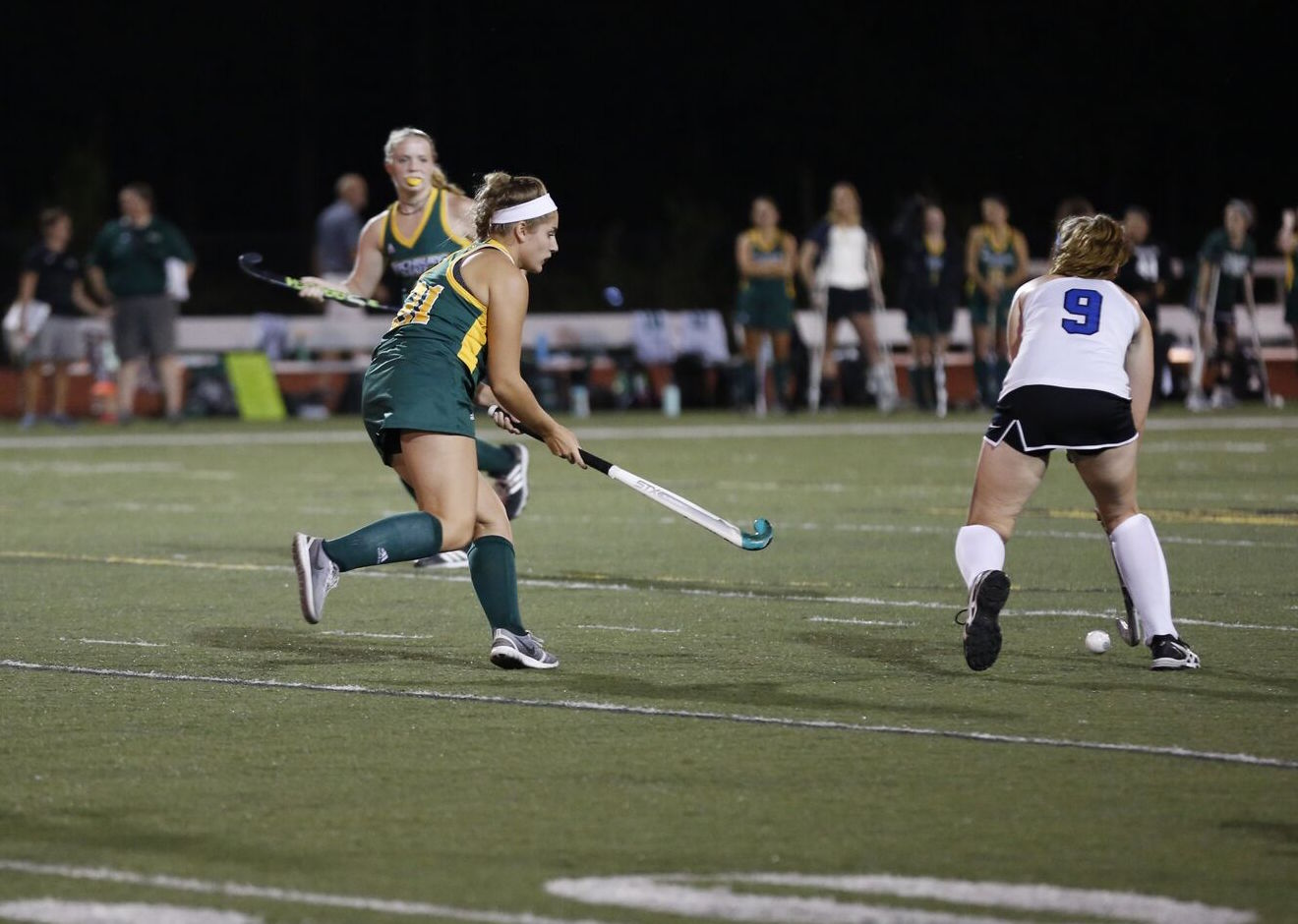 Falcons Upend Pilgrims, 5-1 In Season Opener