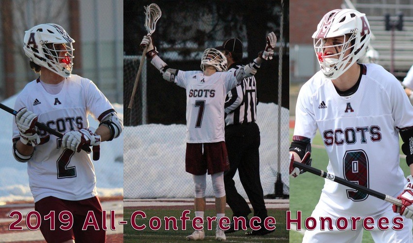 Nycz, Hunyadi and Petersen Earn All-MIAA Honors