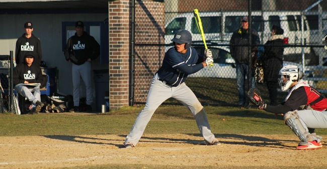 Simone, Dembitzki Lift Baseball To 7-6 Nightcap Win At Worcester State And Split Of MASCAC Twinbill
