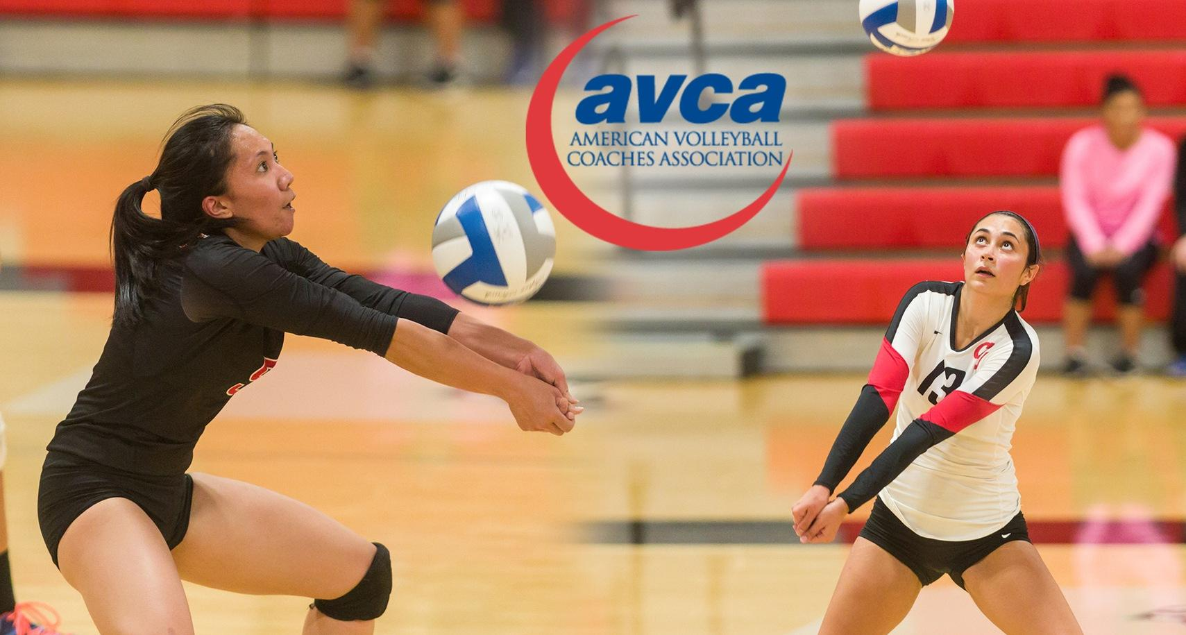 Quiban Named to AVCA All-Region and All-American Team