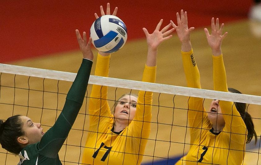 Volleyball Sweeps Western Wyoming Community College 3-0