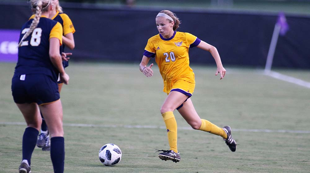 Golden Eagle soccer starts weekend road trip with 3-0 loss at Evansville