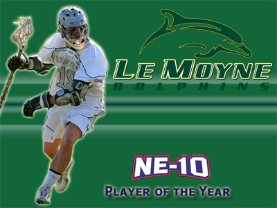 Le Moyne's McDonald Named Northeast-10 Men's Lacrosse Player of the Year