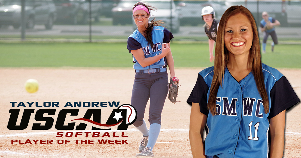 Andrew Named USCAA Pitcher of the Week