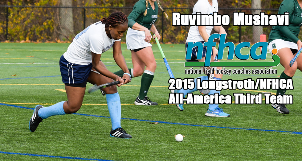 Mushavi Earns NFHCA All-America Honors; Named to Third Team
