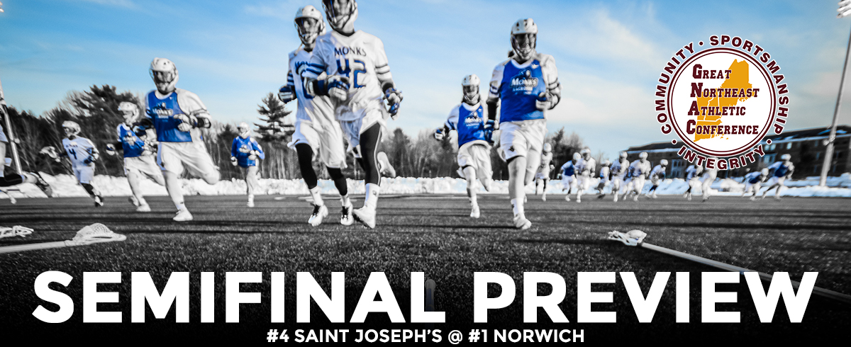 GNAC SEMIFINAL PREVIEW: #4 Saint Joseph's @ #1 Norwich