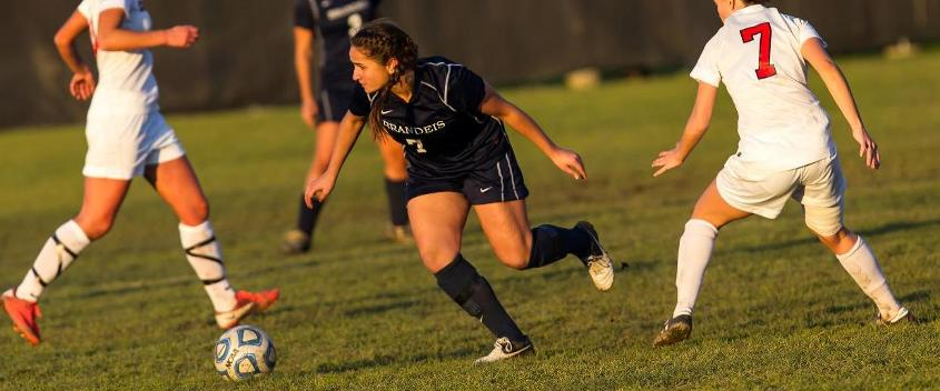 Szafran's six-point day leads #12 women's soccer past Clark, 6-0