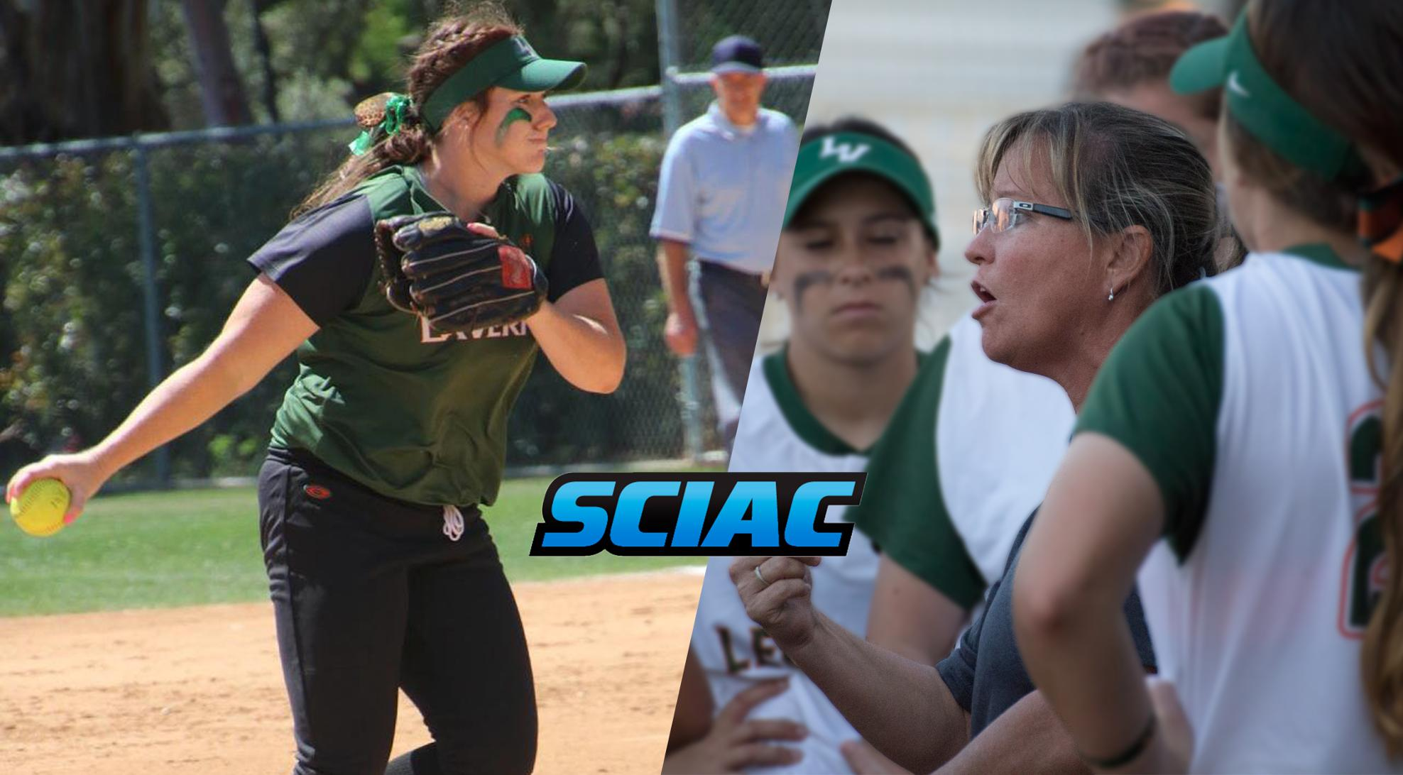 Five Leopards earn All-SCIAC softball honors; Smith Coach of the Year