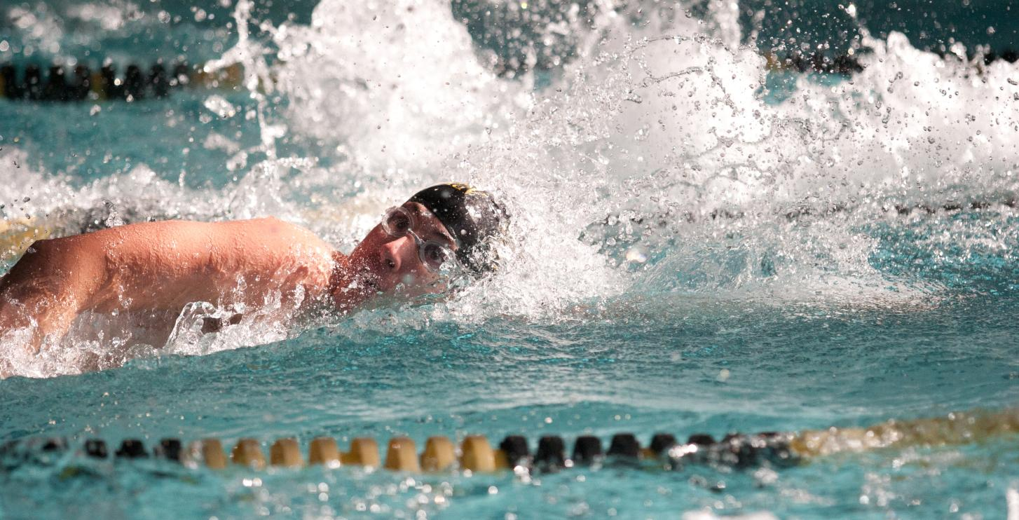 Swimmers Take Third at Austin College Invite