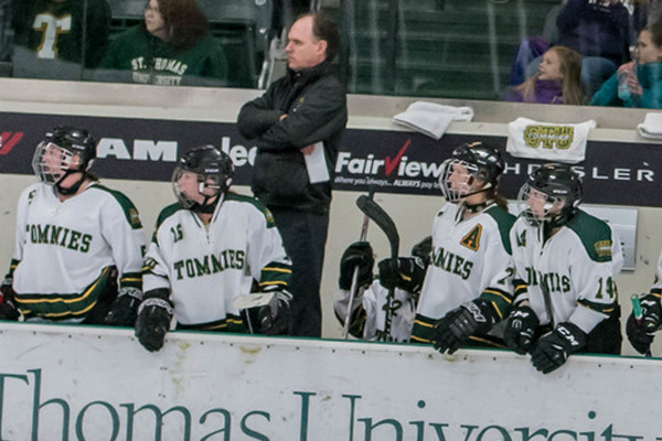 Peter Murphy Appointed Full-time Head Coach of Tommies Women's Hockey