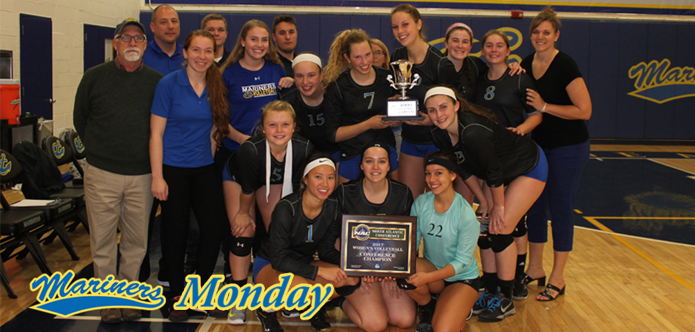 Mariners Monday: Volleyball