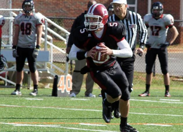 Quakers Drop Road Game at Methodist, 40-22