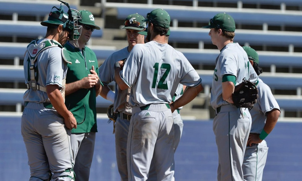 BASEBALL RALLIES FOR FIVE RUNS IN THE NINTH, COMES UP ONE SHY IN 7-6 LOSS AT CSU BAKERSFIELD