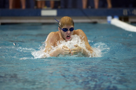 Grabiak Places 19th in 100 Breaststroke