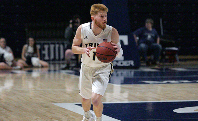 Men's Hoops Moves Back Into Tie for First With Overtime Thriller