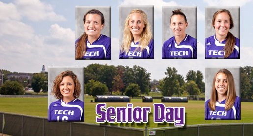 Soccer says farewell to six seniors before Sunday's afternoon game