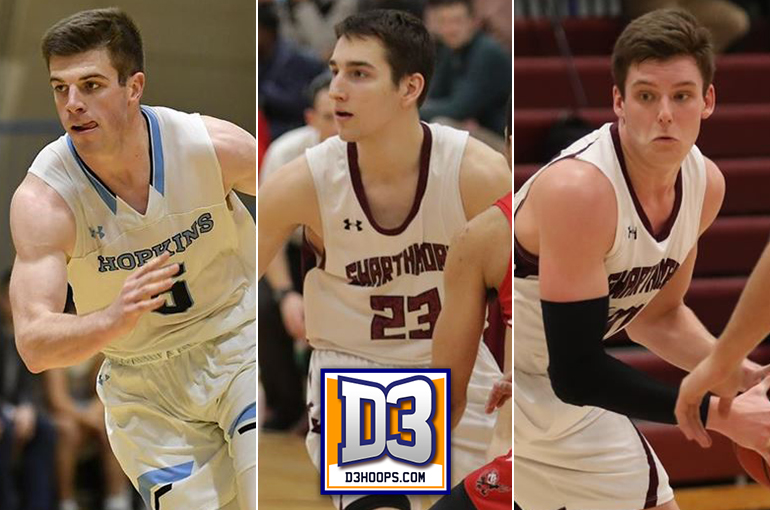 DeAngelo Named National Rookie of the Year; Delaney, Shafer Earn D3hoops.com All-America