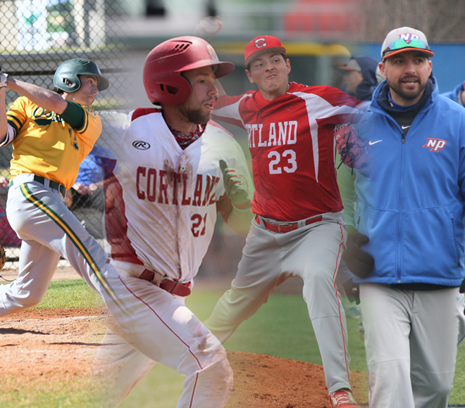 SUNYAC announces 2018 baseball awards