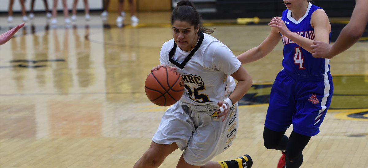 Castaldo Scores a Game-High 15 Points; UMBC Falls to Columbia, 60-44 on Sunday