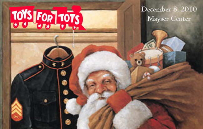Toys for Tots Collection at Mayser Center